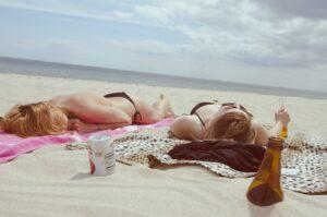 Ochrona SPF pielęgnacja po kąpieli słonecznej